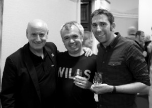 Colin Dunn [with Jon and Mike]