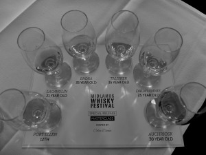 A fabulous line up of whisky