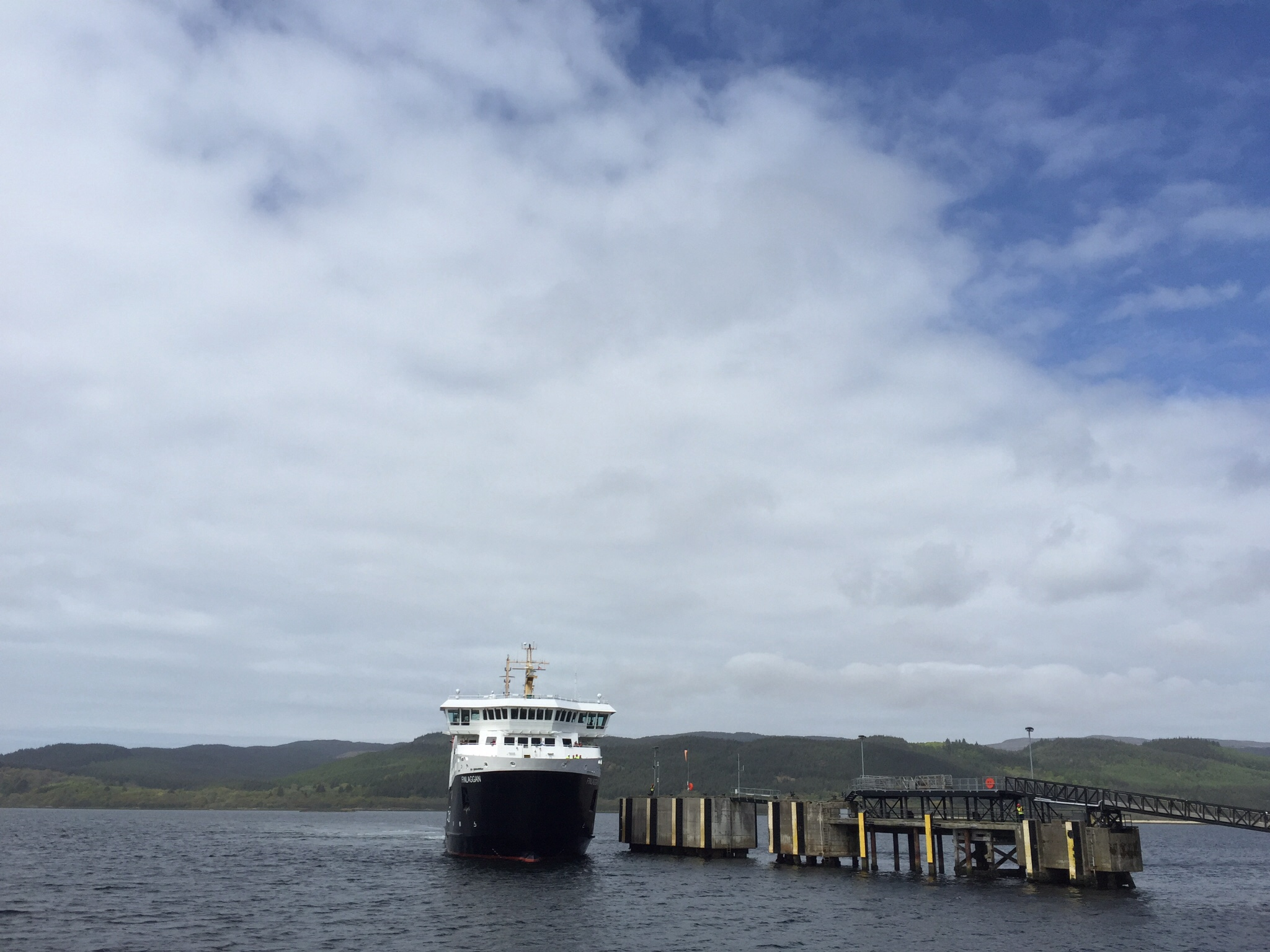 Leaving Kennacraig