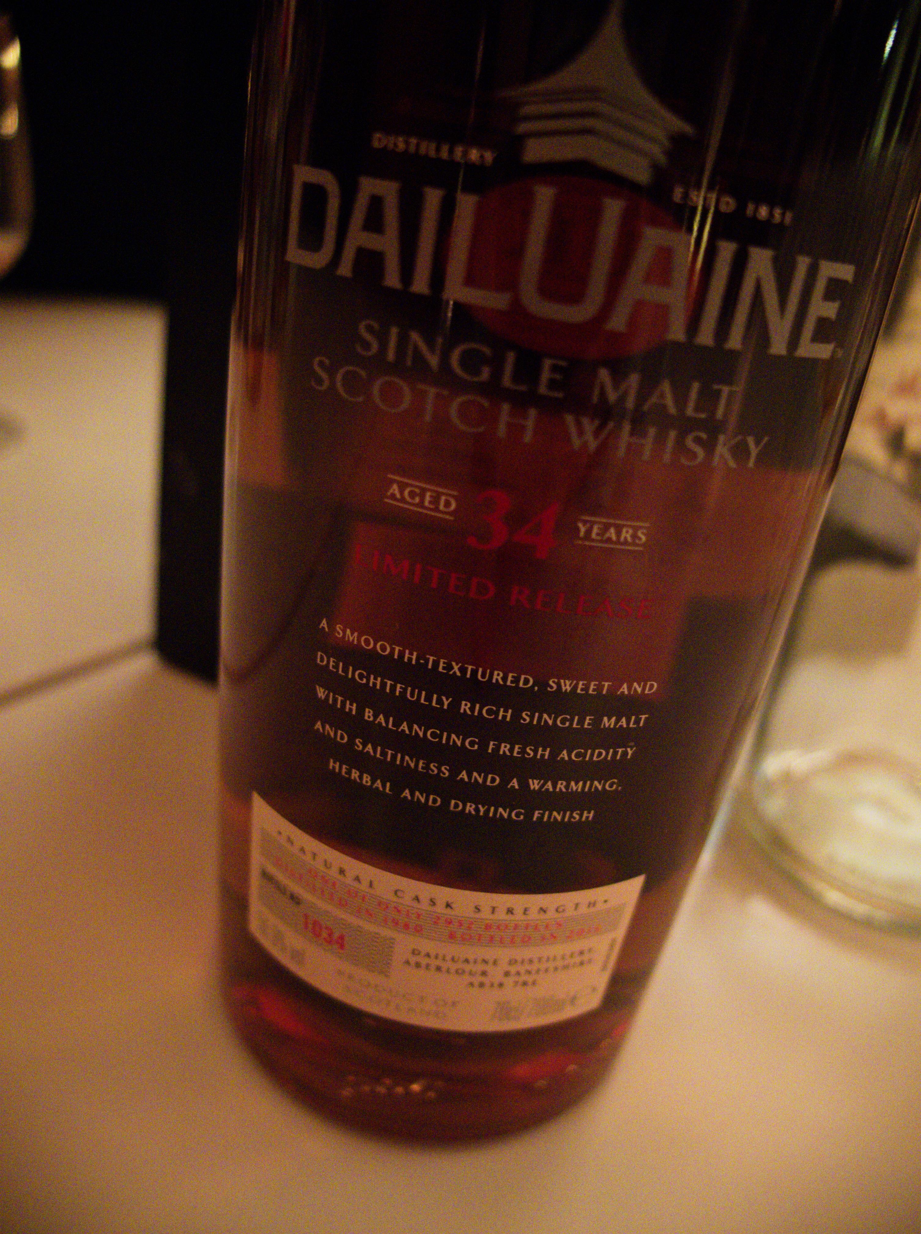 Dailuaine 34