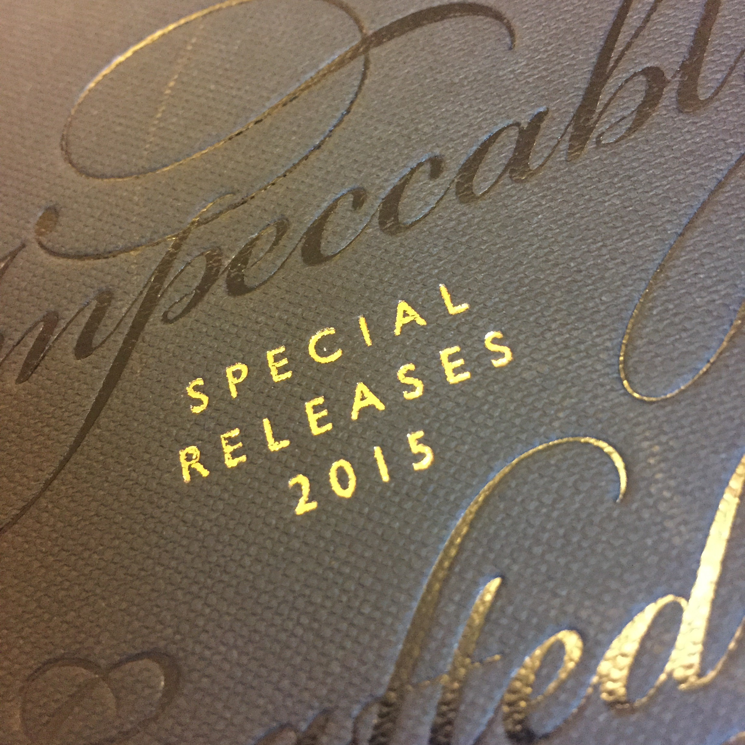 Special Releases 2015